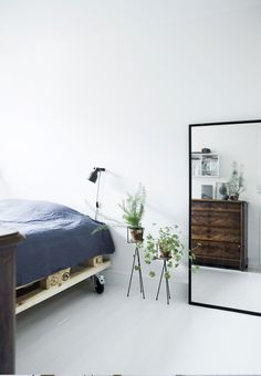 Bed on wheels via boligmagasinet.dk