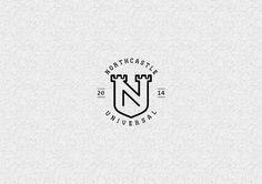 Fortified/protected home with shield concept Logos, Typography Logo, Logo Branding, Branding Design, Castle Logo, Museum Branding, Real Estate Logo Design, Soccer Logo, Tower Design