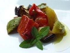 """Ratatouille di verdure al Forno con Olio Flaminio Dop Umbria  """"Ottima anche fredda e perfetta per accompagnare le vostre grigliate estive"""" by Virginie De Dea"""