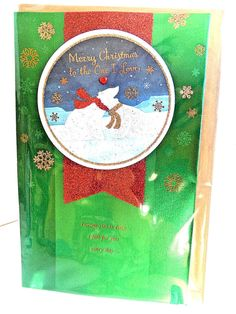 Merry Christmas to One I Love Polar Bears American Greetings Christmas Card #AmericanGreetings #Christmas