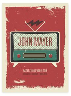 #Houston John Mayer poster