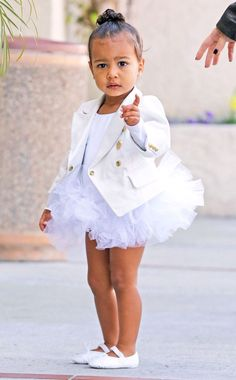 Tutu Cute! from North West's Cutest Baby Pictures!