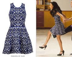 Parker Kaitlyn Fit & Flare Dress - $178.00 (40% off!) Worn with: Arika Nerguiz tango shoes Get dancing in one of these printed blue dresses: