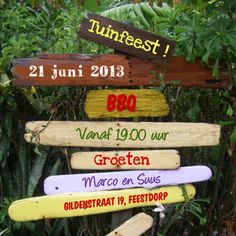 Zomerse uitnodiging TUINFEEST BBQ - Uitnodigingen - Kaartje2go