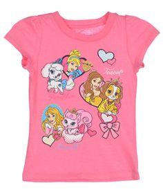 """Disney Princess """"Famous Pets"""" T-Shirt (Sizes 2T – 4T) $6.99"""