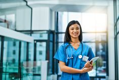 Portrait of a young nurse standing in a hospital Nclex Questions, Nclex Exam, Learning Styles, Nursing Students, Stock Photos, This Or That Questions, Portrait, Photography, Study