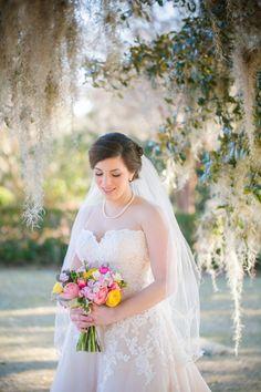 Boone Hall Plantation Bridal Portraits // Dana Cubbage Weddings // Charleston SC + Destination Wedding Photographer