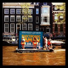 """""""Floating billboard @amsterdam #canals"""" by helloanke"""