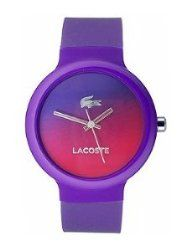 Lacoste Goa Three-Hand Purple Silicone Unisex watch #2020079