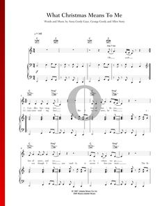 What Christmas Means To Me by Stevie Wonder - Piano Sheet Music What Is Christmas, Stevie Wonder, Piano Sheet Music, The Voice, Special Occasion, Songs, Traditional, Holiday, Christmas Music