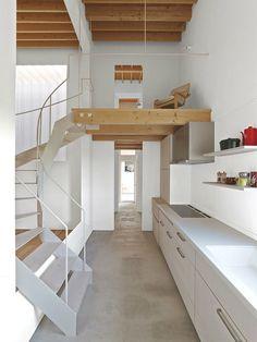 Asahikawa, Hokkaido, Japan residence, by Jun Igarashi Architects