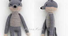 Продолжаю делиться с вами схемами вязания для  компании лесных зверей : зайца, лисы, волка и медведя. Все они похожи друг на друга и сделан...