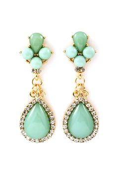 Mintylicious Crystal Claudia Earrings.