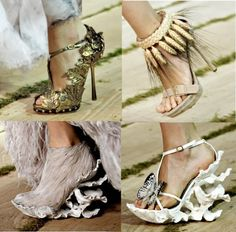 outrageous and bold shoes ...