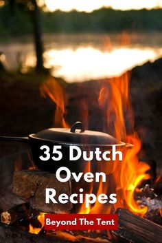 A Dutch oven can completely change your camping experience. Here is how to use them, clean them, season them, plus a bunch of great Dutch Oven Camping Recipes. Open Fire Cooking, Fun Cooking, Cooking Dishes, Outdoor Cooking Recipes, Cooking Stove, Cooking Bacon, Country Cooking, Cooking Turkey, Camping Meals