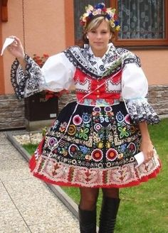 Folk costume from South Moravia, Czechia