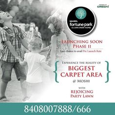 Ringa Ringa Roses! Pocketful of happiness!! Launching more laughs and smiles at Fortune Park 2.  For project details contact us on - +91 8408007888/666   www.saheelproperties.com  Site Add: Gat No.195 , Next to Priyadarshani School, Dehu - Alandi Road, Borhadewadi, Moshi, Pune  #Moshi #SaheelFortunePark #1BHK #2BHK
