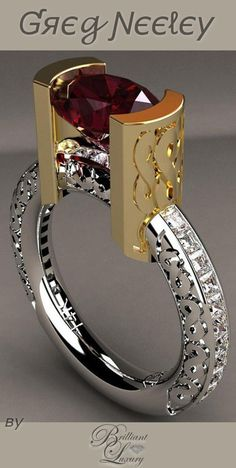 Brilliant Luxury * Greg Neeley Infinity Ring