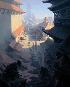 Title: Assassins Artist: Tianhua Xu flowerzzxu.deviantart.com Follow: @tianhua_x