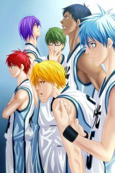 Generation Of Miracle Basketball Anime Miracles Kuroko No Basket Love