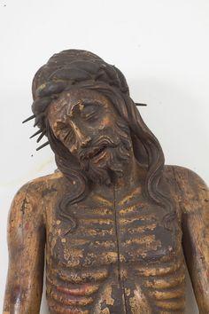Cristo ligneo (XV sec.) PRIMA - BEFORE / Images © Musei Civici Vicenza