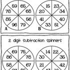 Three digit adding and subtracting assessment with