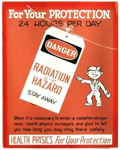 Sushi, anyone? Early Nuclear Safety Posters. Video chat about it at https://createamixer.com/