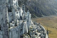 Lord of the Rings-Norse Mythology: Minas Tirith-Asgard Minas Tirith, Lotr, Science Fiction, Tours Of England, O Hobbit, J. R. R. Tolkien, Between Two Worlds, Into The West, Fantasy Castle