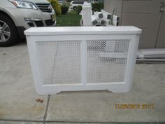 Vintage Radiator Cover APPROX 44 X 27 X 12