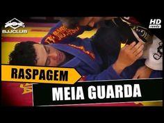 Jiu-Jitsu - Raspagem Meia Guarda - Eduardo Nascimento - BJJCLUB - YouTube