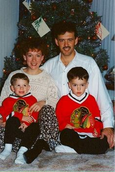 Jonathan Toews even serious as a kid.