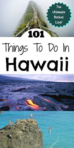 You NEED this list if you are going to Hawaii! The Ultimate Hawaii Bucket List | AGlobalStroll.com