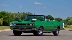 1969 Dodge Hemi Coronet R/T Convertible The Only Documented 4-Speed Hemi Convertible presented as lot R210 at Kissimmee, FL 2016 - image1