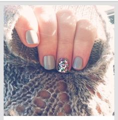 Light grey and sparkles