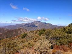 Los Pinos Peak - Ortega Canyon Hiking Trail