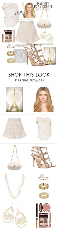 """Ooh La La - Night Out in Paris✨✨"" by mdfletch ❤ liked on Polyvore featuring Oliver Gal Artist Co., Alexis, Roland Mouret, Chanel, Valentino, Miss Selfridge, Ippolita, Charlotte Tilbury and oohlalanightoutinparis"
