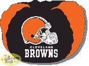 Northwest NFL Cleveland Browns Cloth Bean Bag