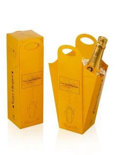 Veuve packaging by Cartografica Pusterla