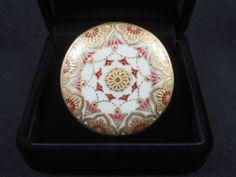 元の薩摩ボタン Pattern Ideas, Vintage Buttons, Decorative Plates, Porcelain, Enamel, Japanese, Antiques, Metal, Painting