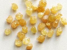 Yellow Sapphire Rough Sapphire Beads Rough by gemsforjewels