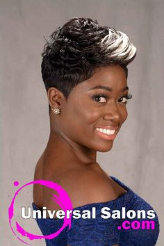 Pretty Prissy Pixie Hairstyle with Color from Shay Walker (3)
