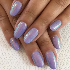 The unicorn life is the only life #BSGPeony topped with fairy dust ✨ Nails by @nailsbycanishiea #BioSeaweedGel #BioSeaweedGelNailArt #ILoveBioSeaweedGel