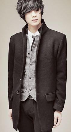 Won Jong Jin--looks steampunky to me! Plus, he's really handsomely cute