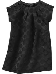 Gap Kids, polka dot pleat neck dress