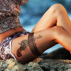 Lace Tattoos Designs and Ideas (21)
