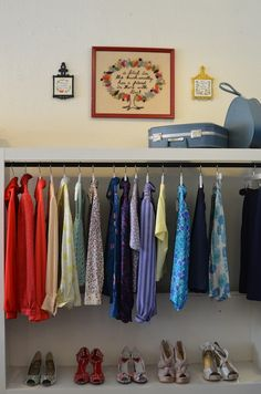 closet ideas: space it out
