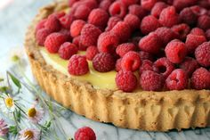 Perfect Spring dessert--gluten free lemon tart.  Uses tapioca flour, cornstarch, sweet rice flour and millet flour.