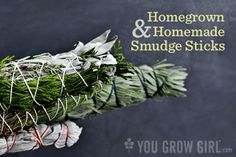 How To Make Your Own Smudge Sticks...http://homestead-and-survival.com/how-to-make-your-own-smudge-sticks/