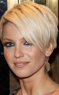 The short hairstyles are the most popular hairstyles recently, you can see a lot girls and celebrities are wear trendy short haircuts.