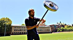 Anti-Gravity Wheel, A Video Exploring Gyroscopic Precession With a Spinning Wheel Educational Technology, Science And Technology, Technology 2017, Science Toys, Best Adjustable Dumbbells, Newtons Laws, University Of Sydney, Anti Gravity, Mechanical Engineering